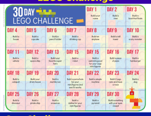 30 Day LEGO Challenge – LEGO Activity