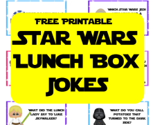 Star Wars Lunch Box Jokes